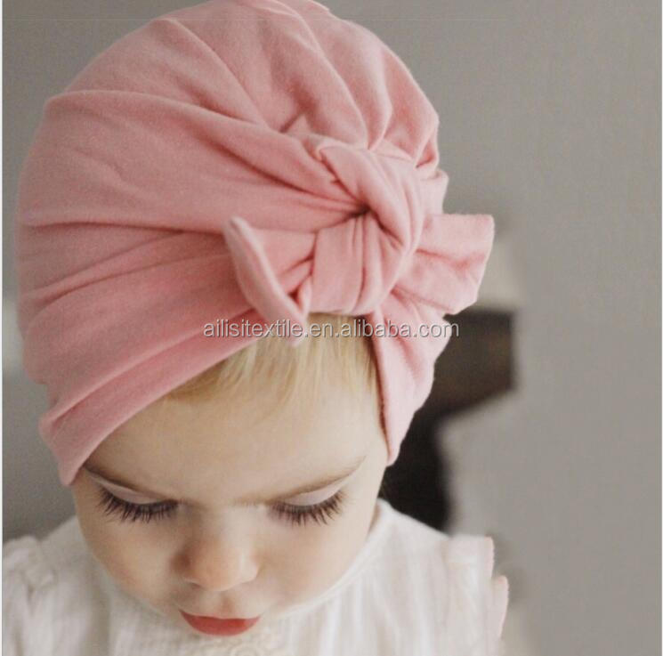 Custom Warm Rabbit Ear Decoration Newborn baby hat, Baby Cotton Hats