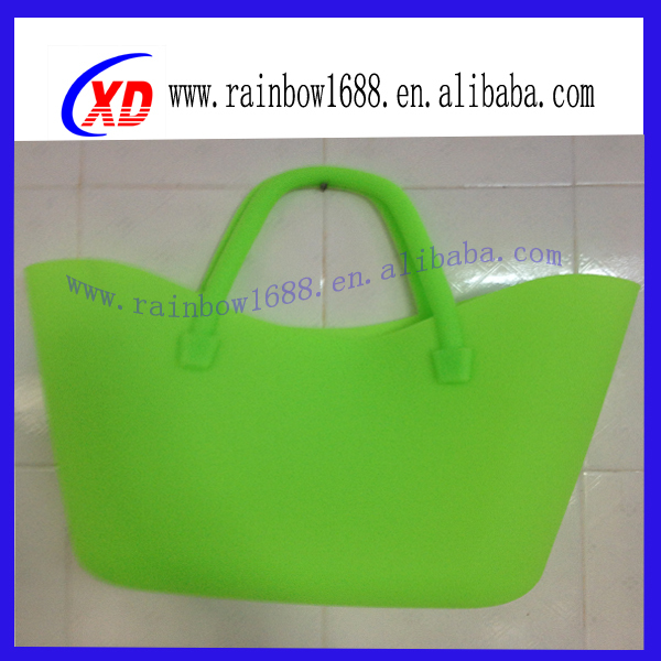 2014 Hot Sell Fashionable Silicone Bag Ladies' Silicone Rubber Bag(LXD-SZ088)