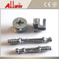 CAM FIXING DOWEL screw 24 / 34 mm & CAMS 15 mm FOR FLAT PACKED FURNITURE