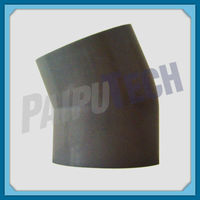 Plastic Pipe Fitting PE100/HDPE/PE Socket 45 Degree Elbow for Water Line
