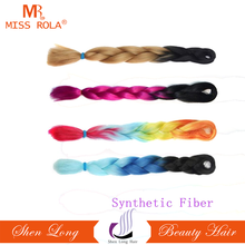 wholesale cheap high quality Synthetic hair for braiding, braiding synthetic hair extension