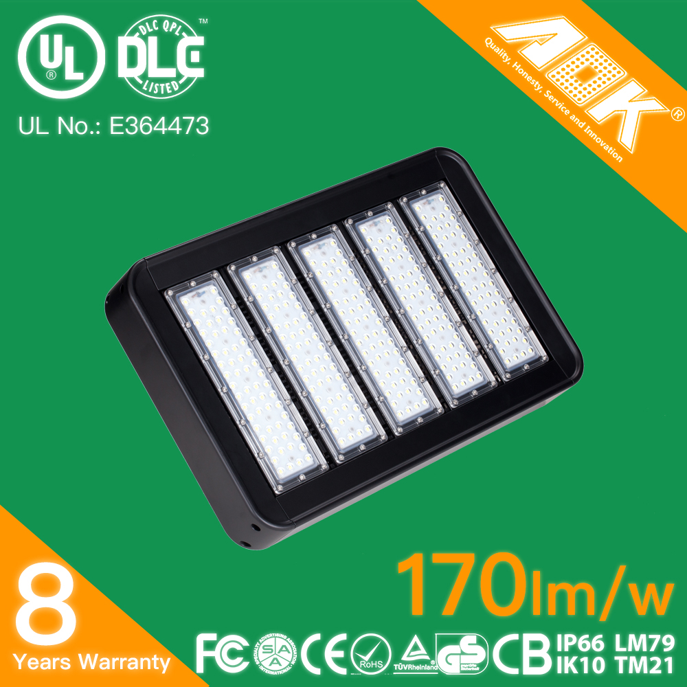 High Power Outdoor IP66 90W 100W 150W 200W 300W 400W LED Tunnel Light,LED Flood Light With Meanwell Driver