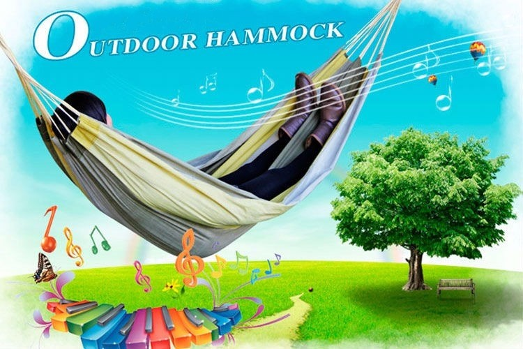STANDARD SHIPPING COST Strong Parachute Material Outdoor Leisure Double Hammock