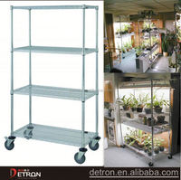 light duty hot sale conservatory metal shelvings