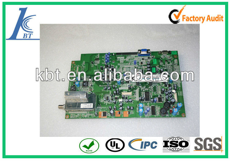 China lcd tv main board,pcb main circuit manufactured for lcd tv board