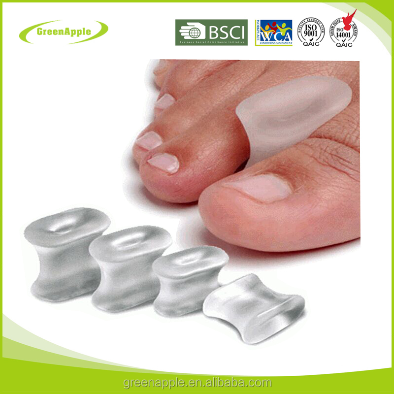 Wholesale Footcare Toe Prodectors Toe Relaxer Silicone Toe Separator