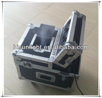 NO bad Smell and Clear Haze, 600W Dual Haze Machine, Mist Machine with Flightcase Packing