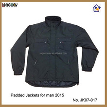 2015 CLASSICAL BLACK LIGHTWEIGHT DURABLE WORK JACKET FOR MEN