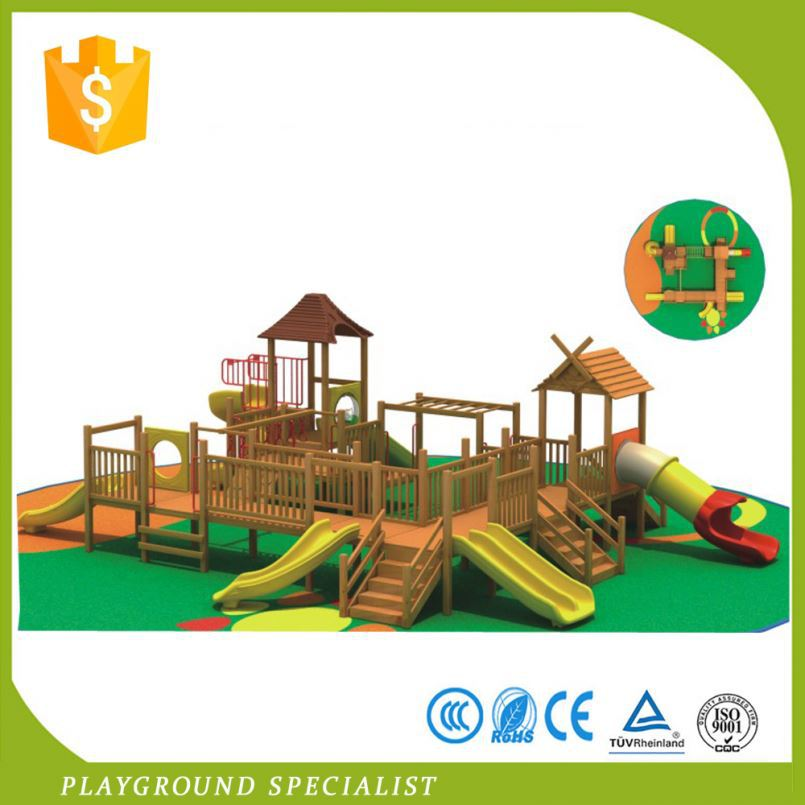 Top Sale New Children Economic Kids Outdoor Climb House Wooden Playground