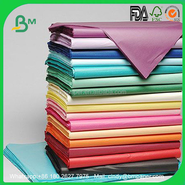 Light Weight 14gsm polka dot nice gift mf tissue paper for weeding decoration