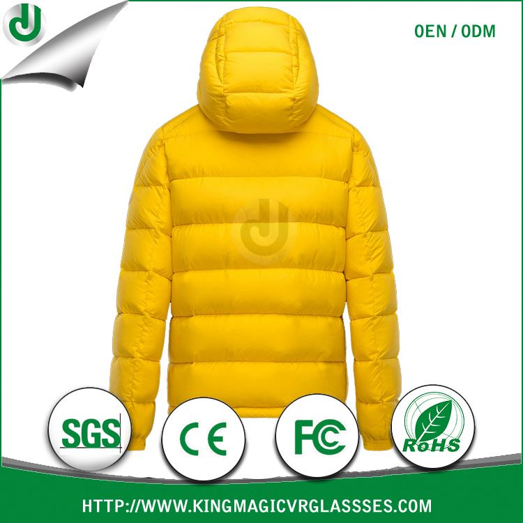 Wholesale high quality and warm JUNJIE first down jacket and parka