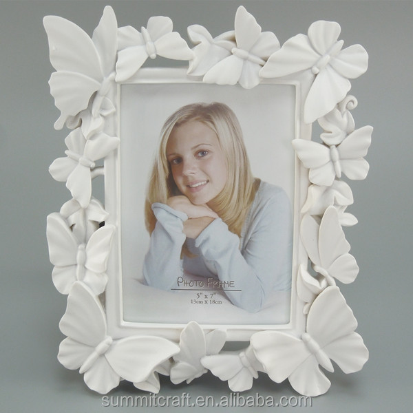 Handmade Butterfly Decor 5 By 7 -inch Memorial Picture Frame - Buy ...