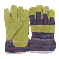 Textiles Leather Products Safety Working Gloves