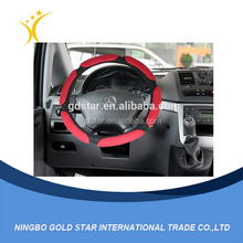 Micro-suede fabric car auto car steering wheel cover