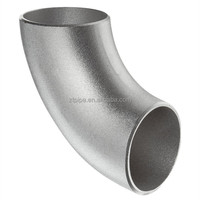 Stainless Steel 304/304L Butt-Weld Pipe Fitting, Long Radius 90 Degree Elbow, Schedule 10