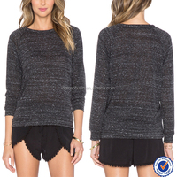 Black knitted top fancy black tops for women girls knitted long sleeve top knitted black blouse