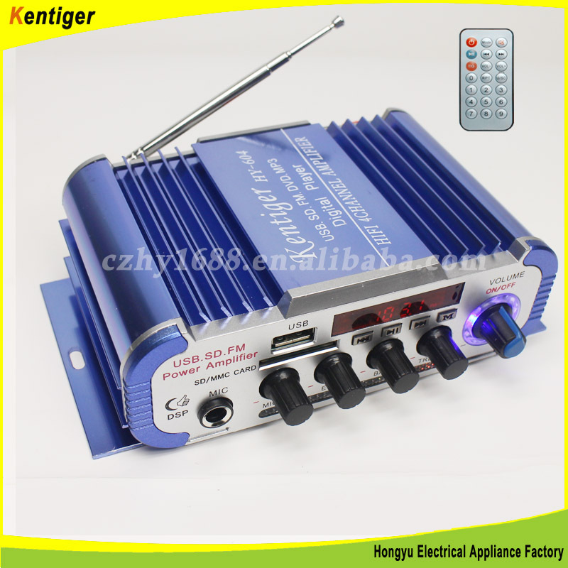 High Quality 4 channel car amplifier
