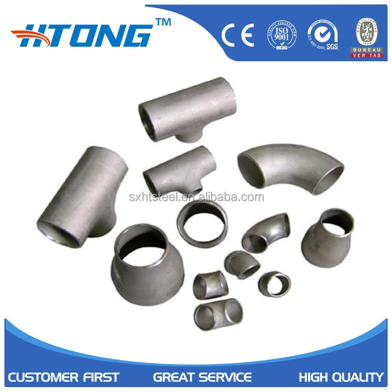 astm a403 316 6 inch welded stainless steel sanitary railing pipe fittings elbow/reducer/flange