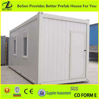 China low cost fast install prefab container house
