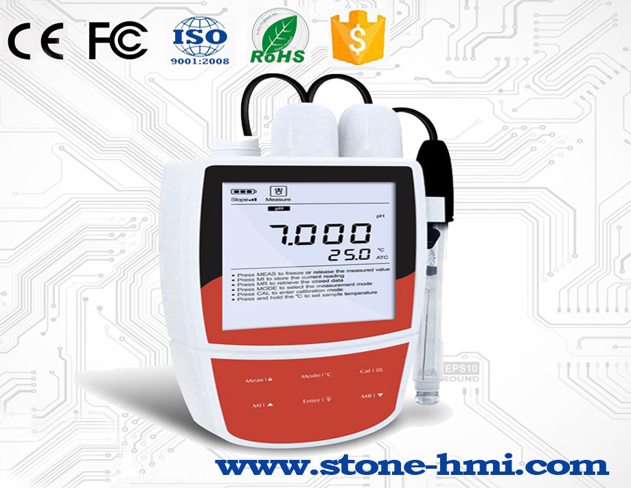 China hot sale 3.5 inch open frame touch screen with RS232/RS485/TTL port for PH Meter