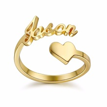 Name Gold Design Cheap Signet Personalized Custom <strong>Ring</strong>