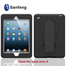 Watch video kickstand shockproof case for Ipad Mini 4 7.9 inch