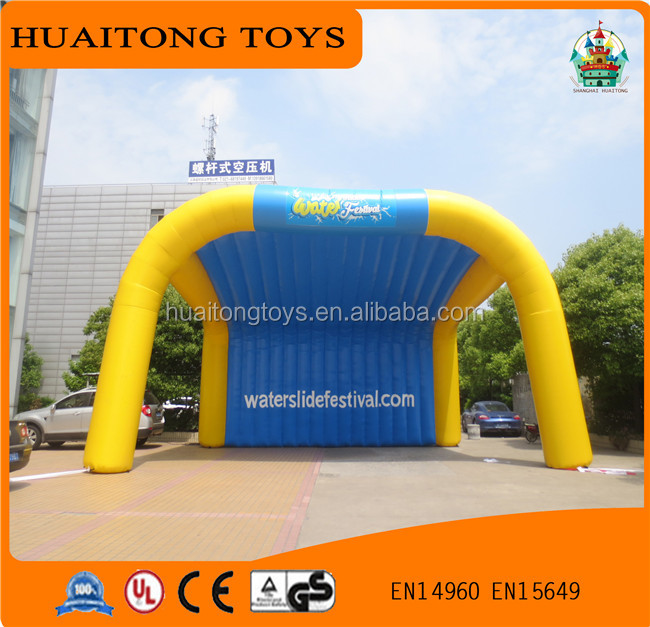 outdoor advertising infaltable tent/High quality large inflatable marquee tent