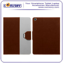 Two Tone Leatherette Pouch Case Cover with stand function for iPad Air