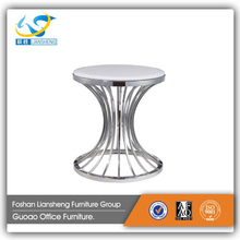 Fashionable metal marble top coffee table cheap