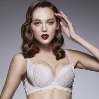 ORA2044 popular odm oem fashion women ladies underwear push up natural lace sexy bra