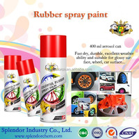 Removable paint/ peelable paint/ rubber paint for used auto repair equipment