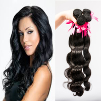 China online shopping 100% human hair tangle free no shed hair weaving
