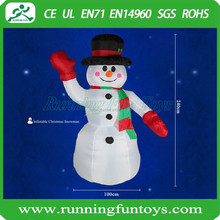 Cheap outdoor christmas decoration inflatable snowman