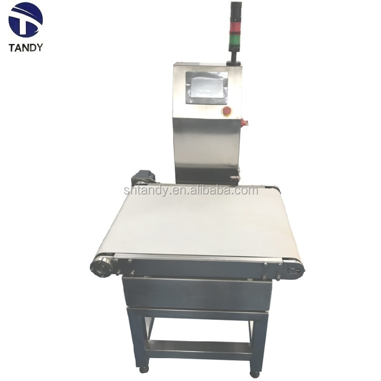 Factory  price  coffee  production  line  check  weigher  with  rejector