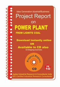 Project Report On Power Plant From Lignite Coal
