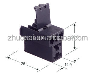 2pin plastic female connector auto 368397-2