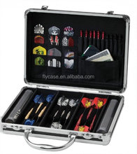 Aluminum alloy dart box with safe locks and strong handle