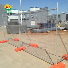 Hot dipped galvanized temporary fence panels hot sale Australia market welded wire mesh fence