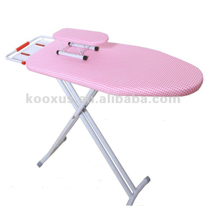 High quality iron mesh folding ironing board