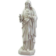2016 Hot Selling Garden Decoration Life Size Antique Stone Jesus Statue