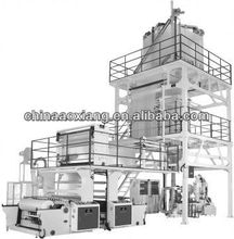 ABC 3layer Co-Extrusion Blown Film Machine manual blowing automatic pet blowing machine blown for pe shoe cover making machine