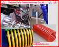 China high quality PVC suction hose pipes production line PVC spiral soft flexible hose pipe extrusion machine