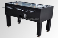 glass cover foosball table&electric coin operated soccer table&baby foot game table as promotion&professional manufacturer,OEM