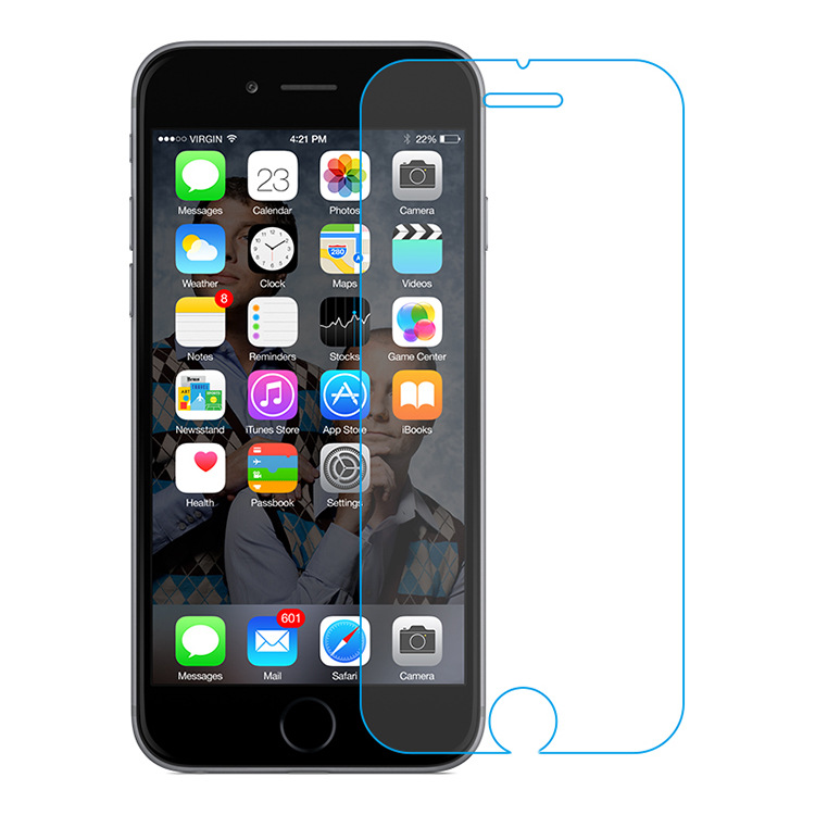 0.3mm 9H Premium Tempered Glass Screen Protector For Apple iPhone 6 Plus Anti Blue Light Screen