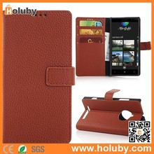 PayPal Acceptable Lichee Pattern Wallet Magnetic Case for Nokia Lumia 830, For Nokia Lumia 830 Leather Flip Case