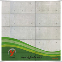 china fireproof grey non asbestos interior fiber cement board housing, building materials