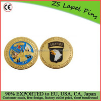 Personalized design and logo 101st Airborne Division Challenge Coin