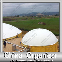 Double Membrane Biogas Storage System on Digester Tank