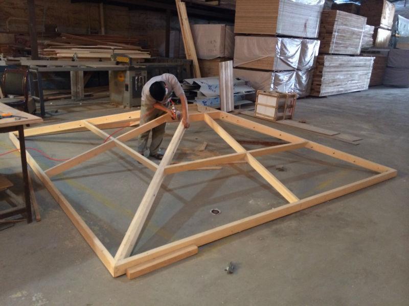 Prefabricated wood house summer house outdoor gazebo buy - Gazebos de madera ...