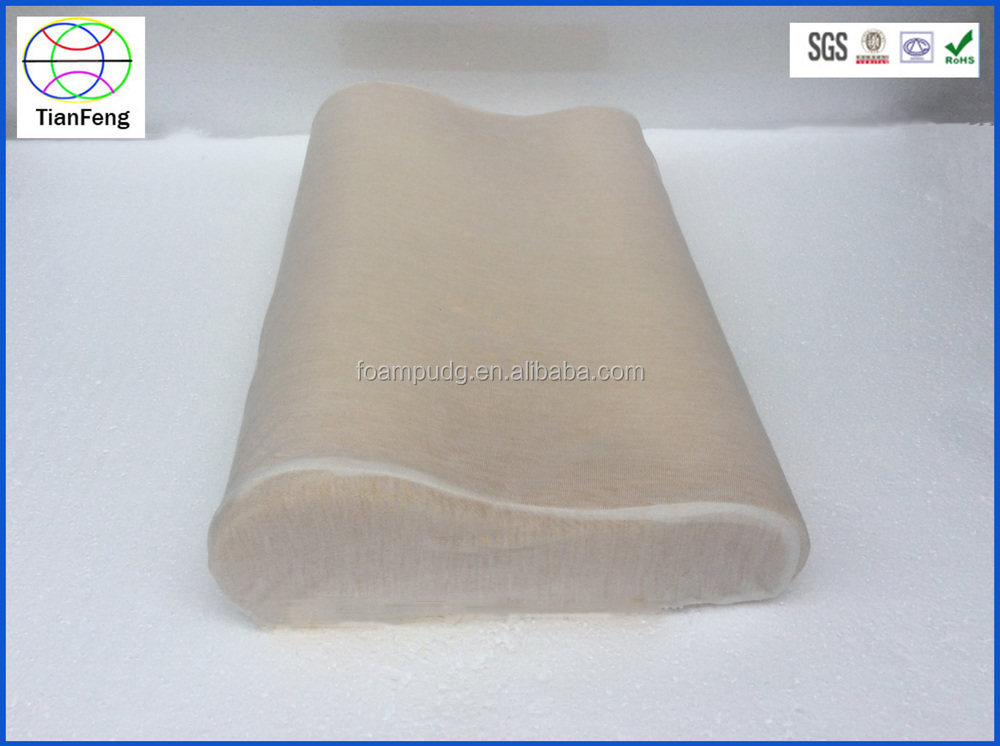 2015 New design High Quality and cheapest latex polyurethane foam pillow